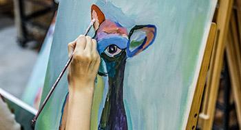 西安画室学子的学习事例_西安创艺画室